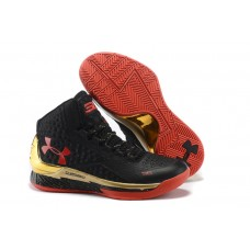 Under Armour Curry One Black/Gold-Red (41-46)
